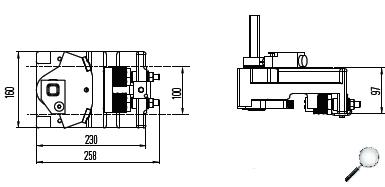 Bremsfangvorrichtung, ab- und aufwärtswirkend, EN81-20/50, Aufzugsrichtlinie 2014/33/EU