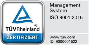 Zertifikat für Management System